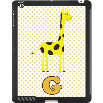 G For Giraffe Case Black iPad Smart Cover