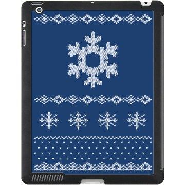 Snow Sweater iPad Case Black iPad Smart Cover