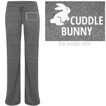 Cuddle Bunny Junior Fit Bella Straight Leg Fleece Sweatpant