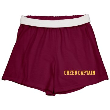 Cheer Captain Amanda Junior Fit Bella Fitness Shorts