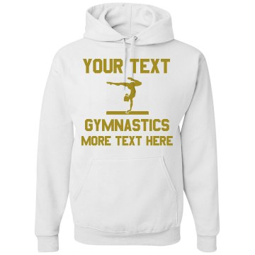 Crane&#x27;s Beach Gymnastics Unisex Gildan Heavy Blend Hoodie