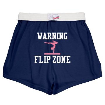 Flip Zone Shorts Junior Fit Soffe Cheer Shorts