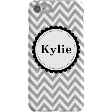 Chevron iPhone Case Plastic iPhone 5 Case White