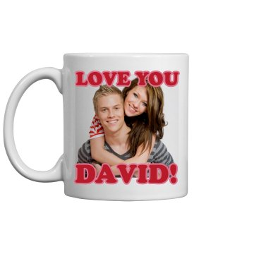 Love You Upload Mug 11oz Ceramic Coffee Mug