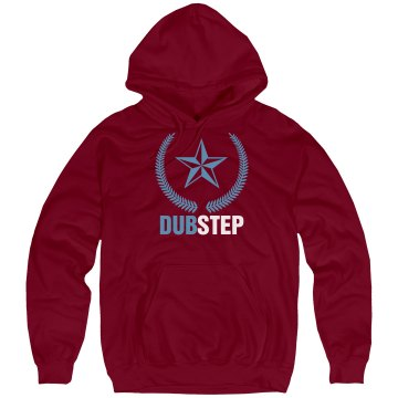 Dubstep Logo Unisex Hanes Ultimate Cotton Heavyweight Hoodie