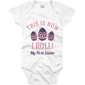 Rollin' On Easter Infant Gerber Onesies