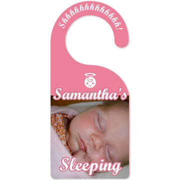 Nursery Door Photo Door Knob Hanger