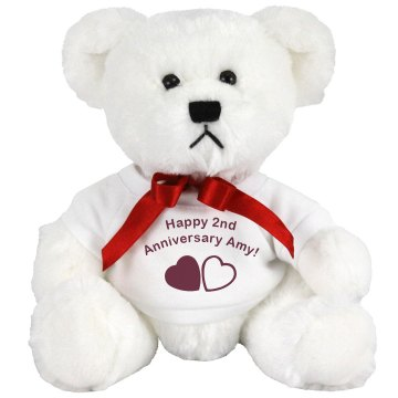Happy Anniversary Teddy Medium Plush Teddy Bear