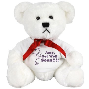 Get Well Soon Medium Plush Teddy Bear