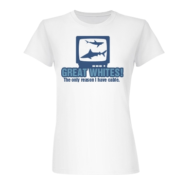Cable For Sharks Junior Fit Basic Bella Favorite Tee