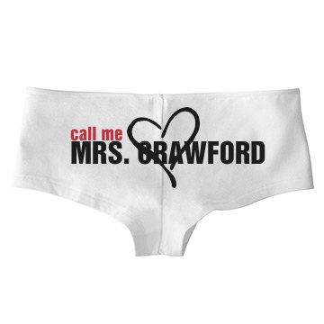 Call Me Mrs. Crawford
