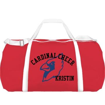 Cardinal Cheer Bag Augusta Sport Roll Bag