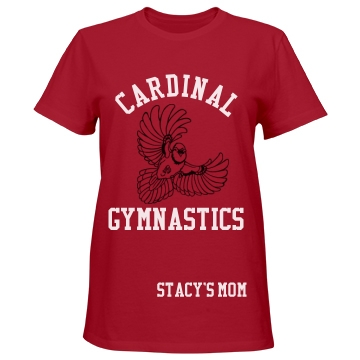 Cardinal Gymnastics Misses Relaxed Fit Port & Company Esse