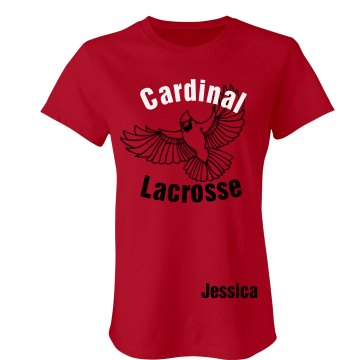 Cardinal Lacrosse Junior Fit Bella Favorite Tee