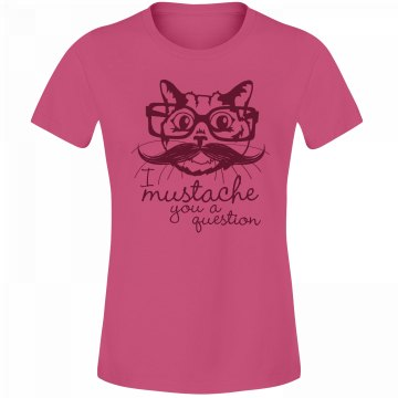 Cat Mustache A Question