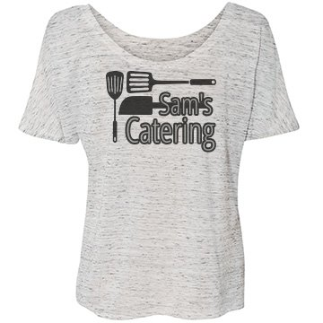 Catering Bella Flowy Lightweight Simple Tee