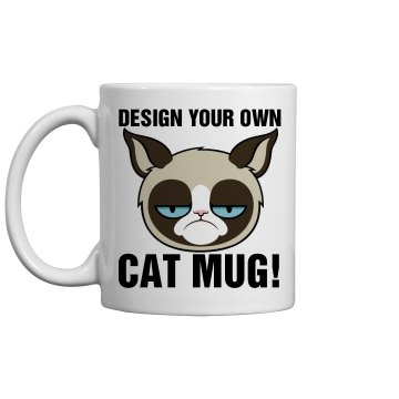 Design a Cat Mug 11oz Ceramic Coffee Mug