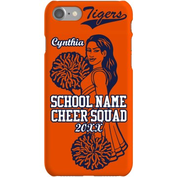 School Colors Cheer Case Plastic iPhone 5 Case Black