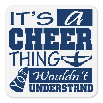 Cheer Locker Magnet Gift Square Magnet