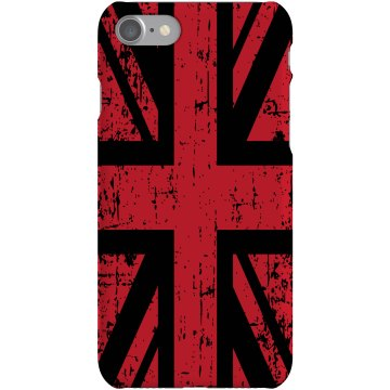 Union Jack iPhone Case Plastic iPhone 5 Case Black