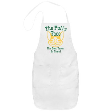 Puffy Taco Apron Port Authority Adjustable Full Length Apron