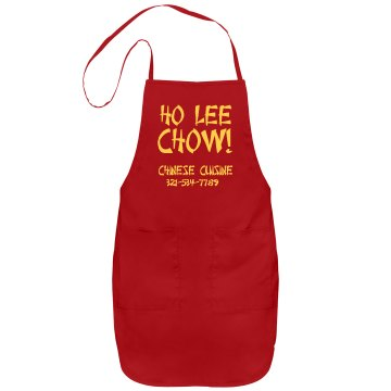 Ho Lee Chow Apron Port Authority Adjustable Full Length Apron