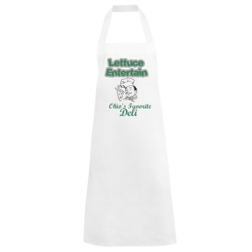 Lettuce Entertain Apron Basic White Apron
