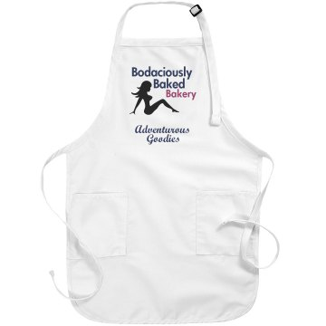 Bakery Apron Basic White Apron