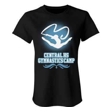 Central HS Gymnastics Junior Fit Bella Favorite Tee