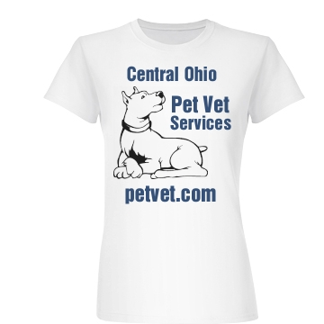 Central Ohio Vet Tee Junior Fit Basic Bella Favorite Tee