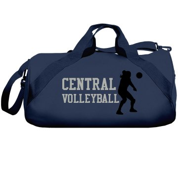 Central Volleyball Bag Liberty Bags Barrel Duffel Bag
