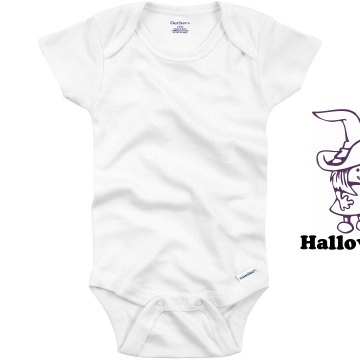 My First Halloween Infant Gerber Onesies