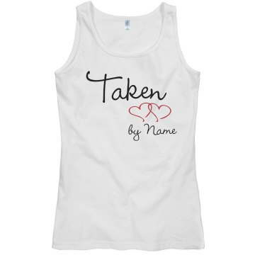 Taken Junior Fit Bella Sheer Longer Length Rib Tank Top