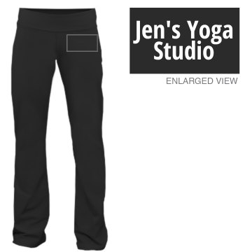 Jen's Yoga Studio Junior Fit Bella Fitness Pants