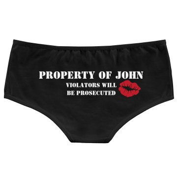 Property Of John Bella Hotshort