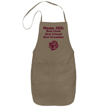 Nana Jill's Apron Port Authority Adjustable Full Length Apron