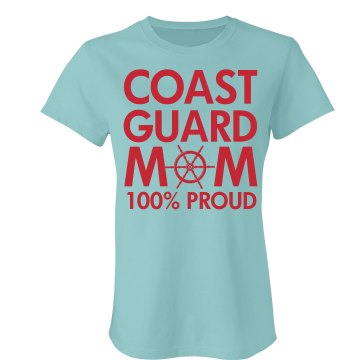 CG Mom 100% Proud Junior Fit Bella Favorite Tee