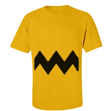 Charlie Squiggle Shirt Unisex Gildan Heavy Cotton Crew Neck Tee