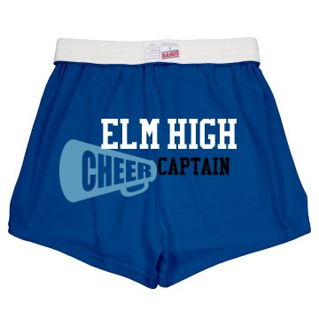 Cheer Captain Shorts Junior Fit Soffe Ch