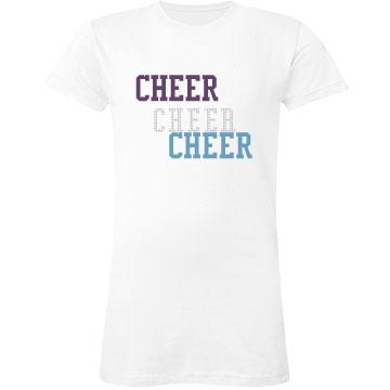 Cheer Cheer Bling Tee