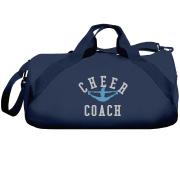 Cheer Coach Rhinestone Liberty Bags Barrel Duffel Bag