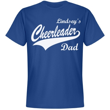 Cheer Dad Phone Unisex Anvil Lightweight Fashion Tee