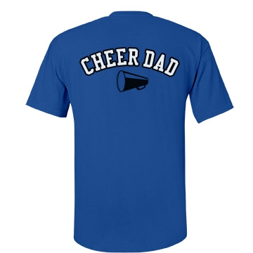 Cheer Dad Unisex Port & Company Essential Tee