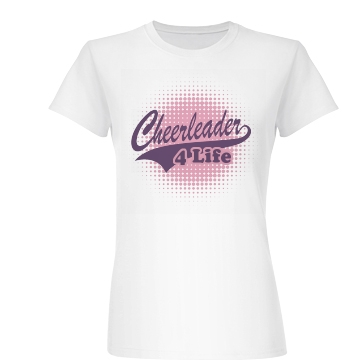 Cheer For Life Junior Fit Basic Bella Favorite Tee
