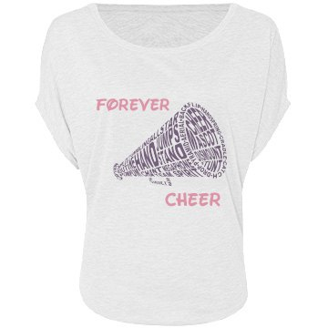 Cheer Forever Bella Flowy Lightweight Circle Top