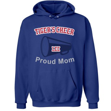 Cheer Mom Hoodie Unisex Hanes Ultimate Cotton Heavyweight Hoodie