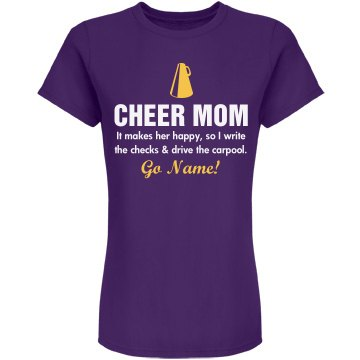 Cheer Shirts Mom Quotes. QuotesGram |Cheer Mom Shirts Sayings