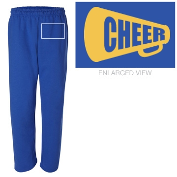 Cheer Sweatpants w/ Back Unisex G