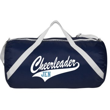 Cheerleader Bag w/ Back