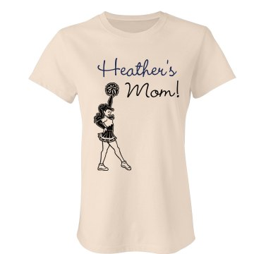 Cheerleader Heather's Mom Junior Fit Bella Favorite Tee